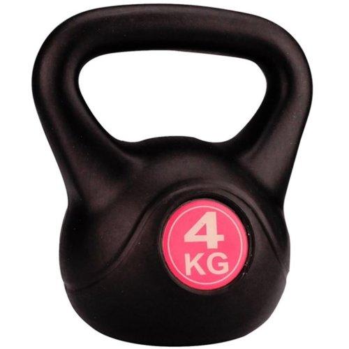 Avento Kettle Bell 4 kg Black 41KA