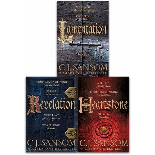 C.J. Sansom Shardlake Series 3 Books Collection Set