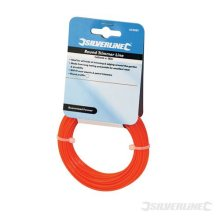 Silverline Trimmer Line Round 1.65mm x 15m -  trimmer line silverline 15m 165mm round x 633881 strimmer