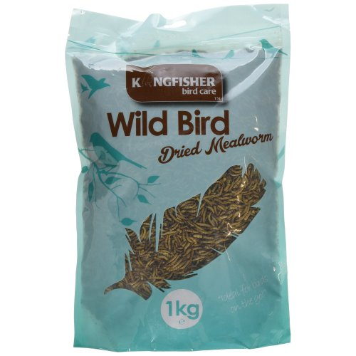 Natures Market King Fisher Mealworms Wild Bird Feed Bag, 1 kg