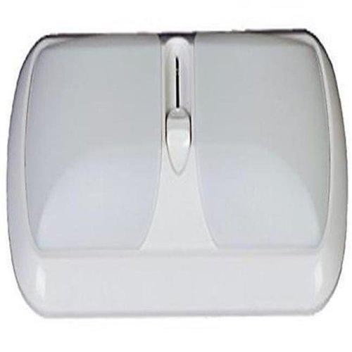 Arcon ARC-51267 Double LED Euro Light with White Lens, Bright White