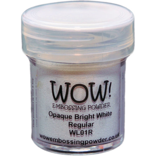 WOW! Embossing Powder 15ml-Opaque Bright White