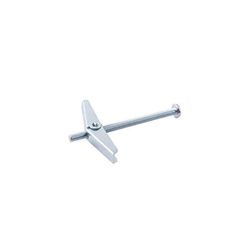 Spring Toggle - M5 x 100 10pk - Silverline Toggles Plaster Board Fixing X100mm -  silverline spring toggles 10pk plaster board fixing m5 x100mm