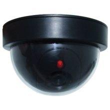 Replica Dome Security Camera With LED -  security camera led dummy replica motion flashing cctv dome sensor select amtech