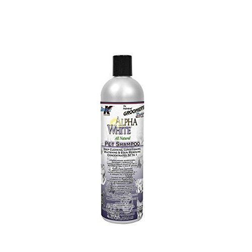 Double K Alpha Shampoo, 473 ml, White