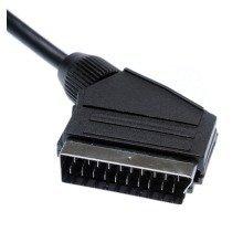 V7 Scart Cable (m/m) Black 3m