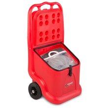 Armorgard SpillKart Mobile Oil Spill Kit Trolley 590x420x1081mm