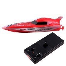 RC Mini Racing Boat Seawing - 2.4GHz Sync System for Multi Players (Colour May Vary RED or YELLOW)