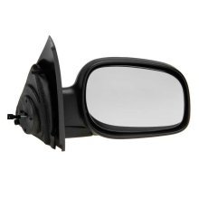 Land Rover Freelander 2000-2007 Powerfolding Black Wing Door Mirror Drivers Side
