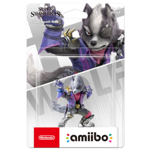 Nintendo Amiibo Super Smash Bros Wolf No 63