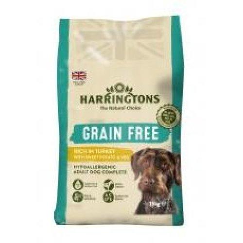 Harringtons Grain Free Turkey & Sweet Potato 15kg