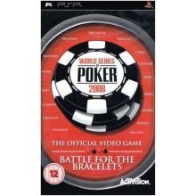 World Series of Poker 2008 Battle for the Bracelets Sony PSP Game