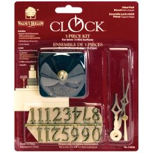 "Clock 3-Piece Kit-For .25"" Surfaces"