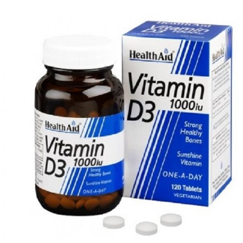HealthAid Vitamin D3 1000iu Tablets 120