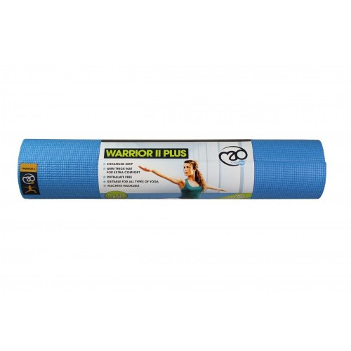 6mm Light Blue Warrior Ii Plus Yoga Mat - Mad -  yoga warrior mat ii plus mad 6mm light