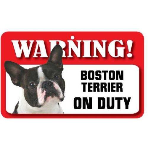 Boston Terrier Pet Sign