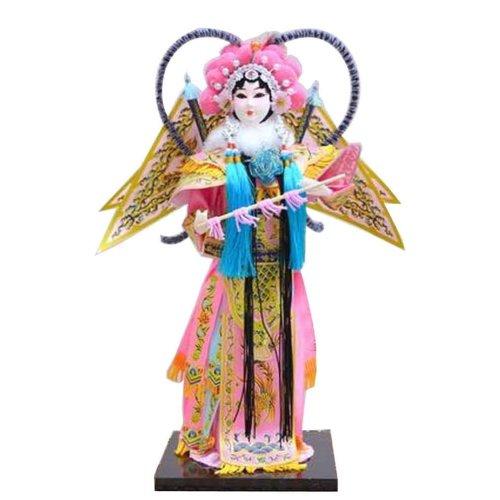Traditional Chinese Doll Peking Opera Performer - Mu Gui Ying 02
