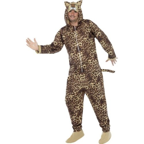 670c1d1c318b Smiffy's Adult Unisex Leopard Costume, All In One Jumpsuit, Size: L,  Colour: - leopard costume animal fancy dress zoo outfit mens adult unisex  cat on OnBuy