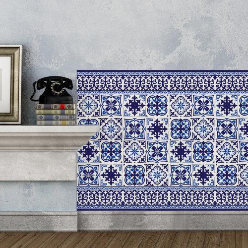 Walplus Tile Granada Tiles Wall Sticker Decal (Size: 20m x 20cm @ 12pcs)