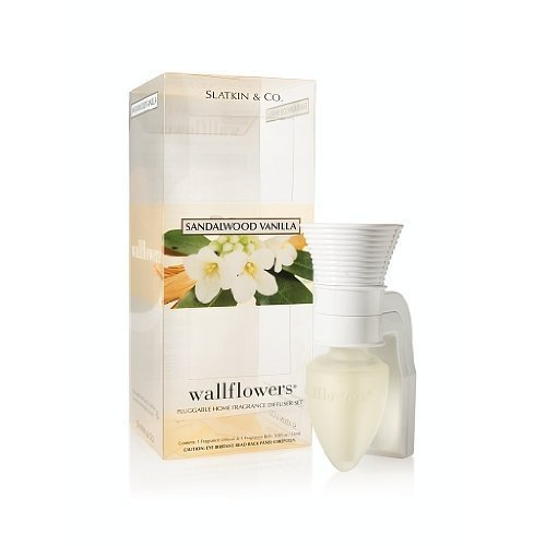 Bath & Body Works Slatkin & Co. Sandalwood Vanilla Wallflower Pluggable Home Fra