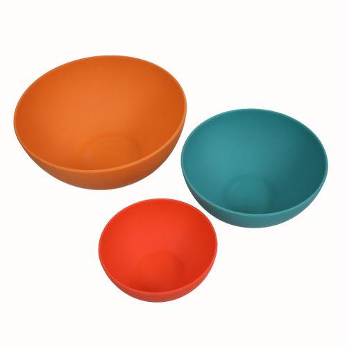 School of Wok Set of 3 Mixing Bowls