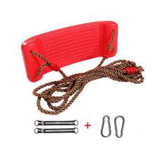 2-in-1 Snug 'n Secure Swing - Holds 331 Lbs Adjustable Hanging Ropes,