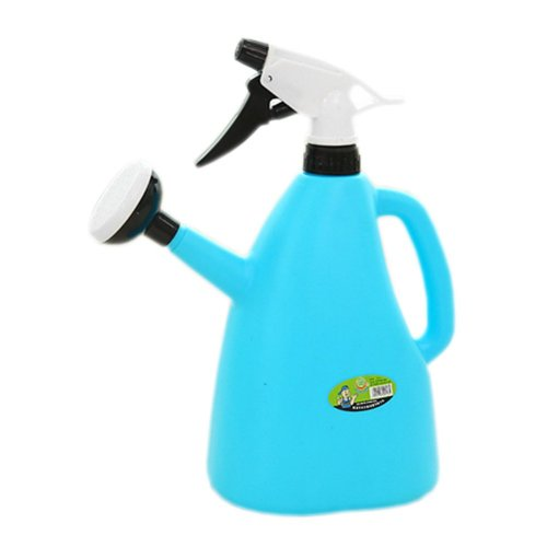 Multifunction Solid Air Pressure Watering Can Garden Tool Watering Pot,1.2L Blue