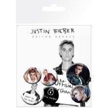 Justin Bieber Mix 2 Badge Pack