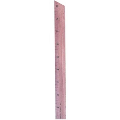 Charles Leonard 2317615 0.25 in. Wood Primary Ruler Increments - Case of 432