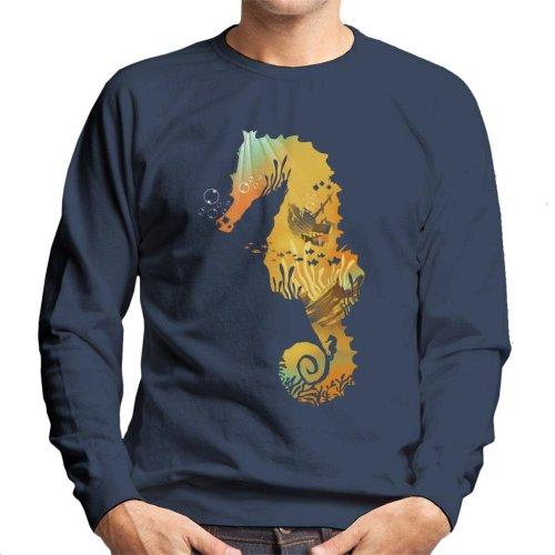 Seahorse Treasure Men's Sweatshirt