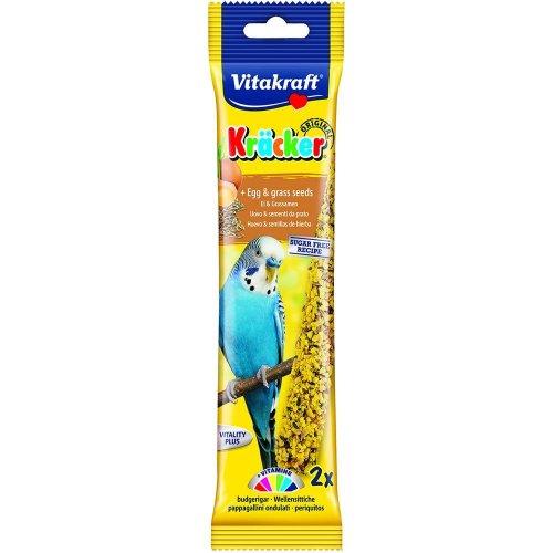 Vitakraft Budgie Stick Egg 60g (2pk 2) (Pack of 7)