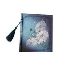 Artistic Chinese Style Schedule Book Diary Business Notebook,Rose