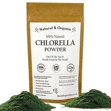Natural & Organic - CHLORELLA Powder - 100% Natural - Broken Cell Wall