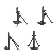 BMC WW2 Plastic Army Men Mortars - 4pc Toy Soldier 1:32 Accessory Set