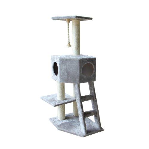 Scratching Tree Classic Rover, 50 x 40 x 120 cm, Light Grey