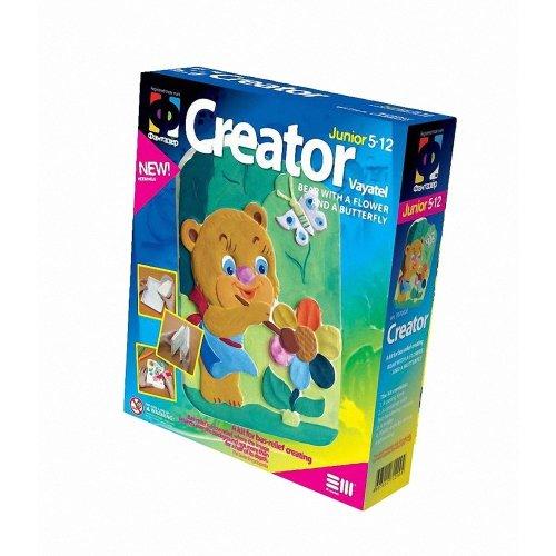 Elf707002 - Fantazer - Creator Plastercast Bear W/ Flower and Butterfly