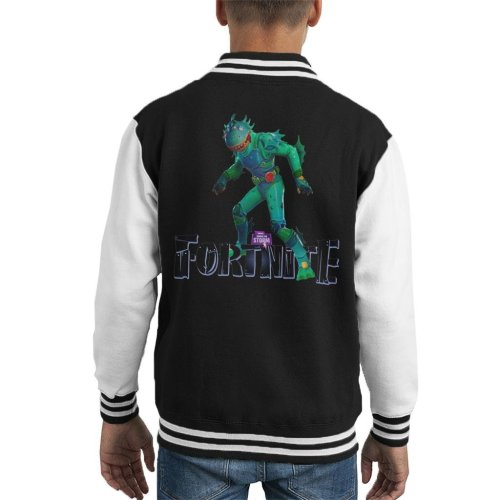 Fortnite Moisty Merman Skin Kid's Varsity Jacket