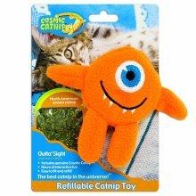 Cosmic Catnip Refillable Cyclops Cat Toy - Strong -  catnip cosmic refillable cyclops toy strong