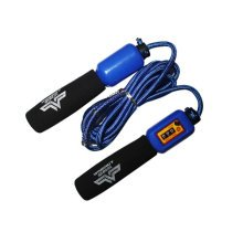 Jump Rope for Fitness Training,Athletic Speed Rope 3M Count Rope Skipping Blue