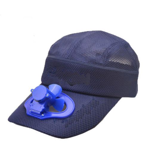 Summer Fan Hat with Fan Fishing Sun Visor Cap#B