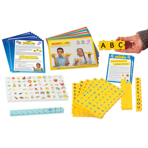Morphun Uppercase and Lowercase Letters Set with Pictures - Literacy Resources
