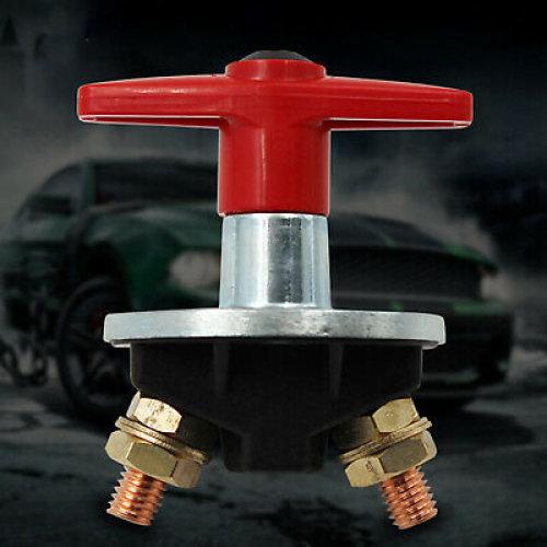 1000 Amp Fixed Key Battery Isolator Cut Off Kill Switch 12v / 24v Heavy Duty