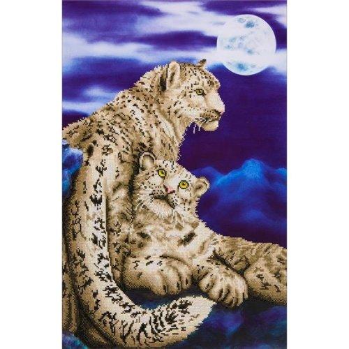 Needleart World DD12004 Diamond Dotz Diamond Embroidery Facet Art Kit - Snow Leopards