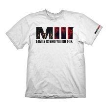 MAFIA III Family T-Shirt M Size - White (GAYA-GE6085M)