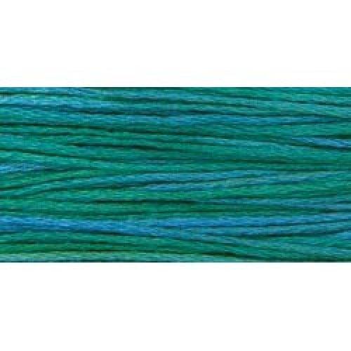 Weeks Dye Works 6-Strand Embroidery Floss 5yd-Peacock