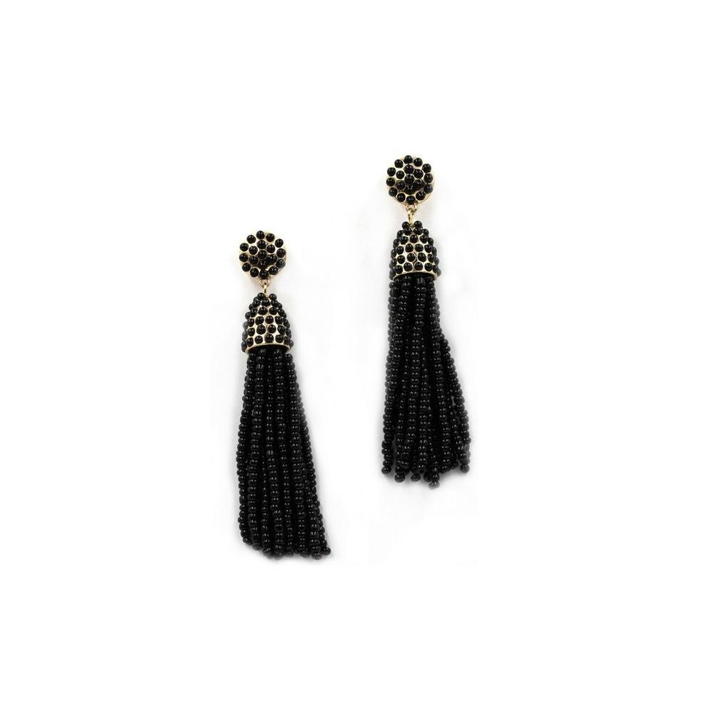 2017 New Fashion Seed Beads Boho Tel Simple Long Drop Earrings For Women