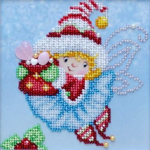 VDV Bead Embroidery Kit - Christmas Gift Fairy