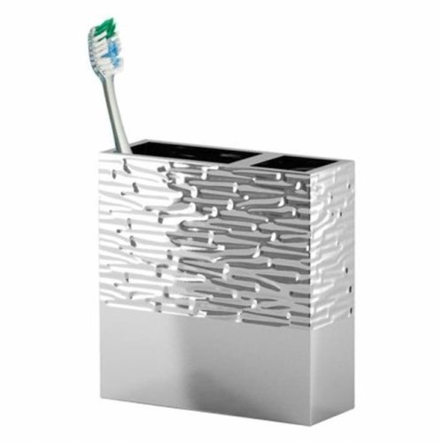 NuSteel MET4H Metropolitan Toothbrush Holder