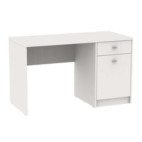 Home Office Desk 1 Door 1 Drawer Computer PC Writing Dressing Table Workstation
