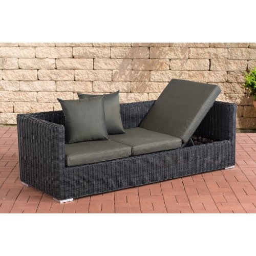 Lounge sofa Solano 5mm Anthracite